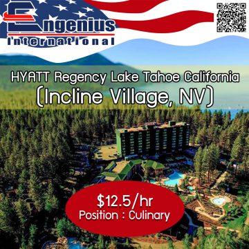 HYATT Regency Lake Tahoe California (Incline Village, NV)